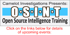 Open Source Intelligence Training Classes